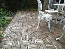 ikea runnen hack pleasing diy outdoor wood tiles ikea runnen decking makes it patio