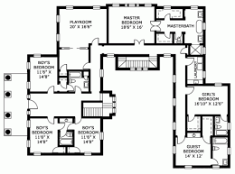 House Plans With Pools U Shaped House Plans With Pool Home Design