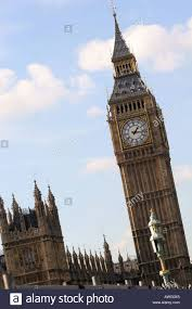 British Houses World Famous London Iconic Landmark City Symbol Big Ben Clock