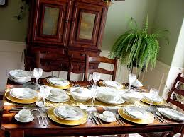 dinner set table on amazing thank you for inviting us to be