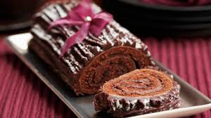 chocolate yule log recipe sbs food