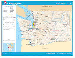 Topographic Map Seattle by Washington Maps And Info