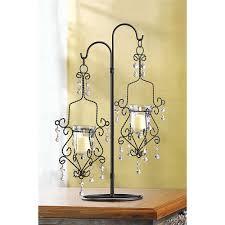 amazon com 10 hanging mini chandelier candle wedding centerpieces