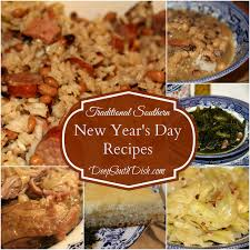 new year dinner recipe south dish traditional southern new year s day recipes