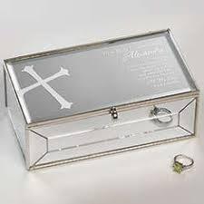 communion jewelry box 24 95 personalized communion silver jewelry box religious