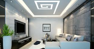 living room ceiling design ideas of simple suspended hidden