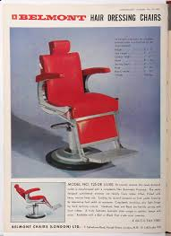 Hair Chair Vintage Hair Advert Dating Back To The 1960s Antique Barber