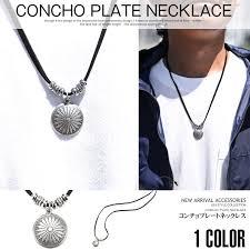 man accessories necklace images Clothes unit rakuten global market necklace men pendant concho jpg