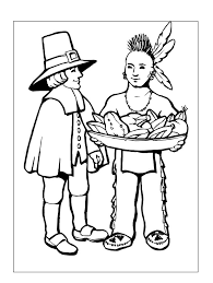 217 thanksgiving coloring pages kids
