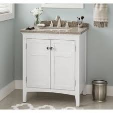 30 Inch Bathroom Vanity With Top Allen Roth Brisette Cream Undermount Single Sink Bathroom Vanity