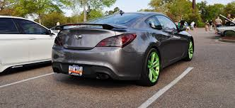 hyundai genesis 2 door coupe 2014 hyundai genesis coupe 3 6 r spec at cars coffee wearing