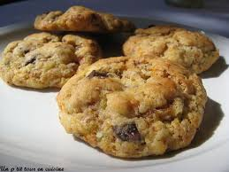 cuisine bresil recette cookies aux noix du brésil chocolat au lait et fève tonka