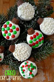 oreo ornaments recipe baking sandwich cookies and oreo