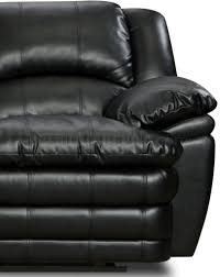 Black Leather Reclining Sofa And Loveseat Bentley Bonded Leather Reclining Sofa U0026 Loveseat Set