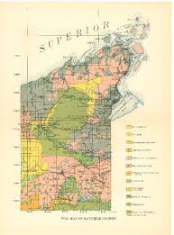 Wisconsin Maps by Wisconsin Geological U0026 Natural History Survey Soil Maps Of