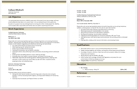 Dental Assistant Sample Resume by Download Veterinary Technician Sample Resume