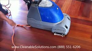 hardwood floor cleaning and scrubbing cleanable solutions