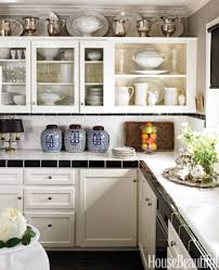 Decorating Ideas For Above Kitchen Cabinets What To Put On Top Of Kitchen Cabinets Best 25 Above Kitchen