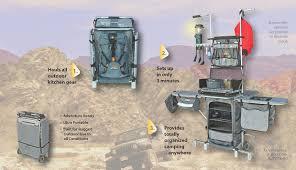 the modern rugged and ultra portable grub hub camp box