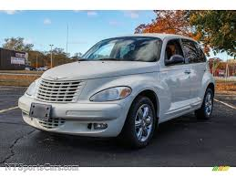 2005 chrysler pt cruiser limited in cool vanilla white 642045