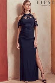 buy women u0027s dresses blue cold shoulder coldshoulder from the next