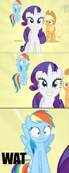 Mlp Funny Meme - taken aback mlp rarity and pony