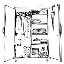 Das Schlafzimmer Clipart Kleiderschrank Clipart Tentfox Com