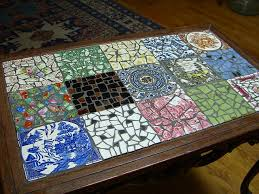 best mosaic coffee table best images about mosaic tile coffee