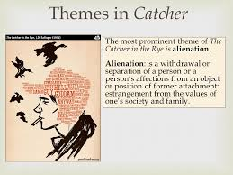 catcher in the rye theme of alienation themes in catcher the most prominent theme of the catcher in the rye