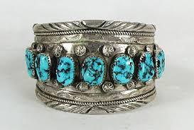 vintage turquoise bracelet images Authentic vintage native american navajo turquoise nugget bracelet jpg