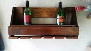 euro pallet wine rack u0026 glasses holder u2022 1001 pallets