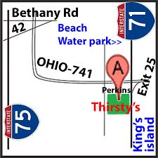 Occ Map Thirsty U0027s Oasis Sports Bar U0026 Grill