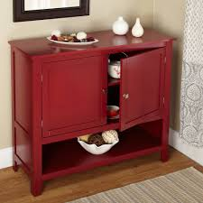 kitchen sideboard cabinet picture of small red montego kitchen buffet the best furniture