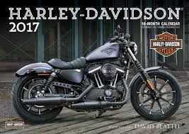 Harley Davidson Home Decor Catalog Harley Davidson R 2017 16 Month Calendar September 2016 Through