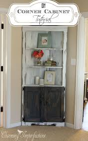 How To Make A Small Cabinet Best 25 Small Corner Cabinet Ideas On Pinterest Diy Corner