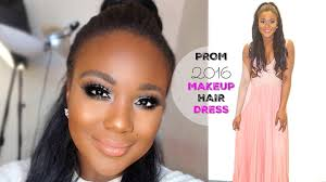 prom makeup i prom get ready with me hair dress 2016 you