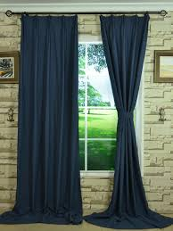 hudson solid versatile pleat curtain extra wide curtains for