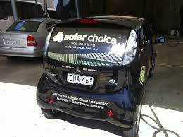 mitsubishi electric car solar choice gets one of australia u0027s first electric vehicles