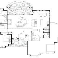 log home open floor plans single level log home plans one log home plans