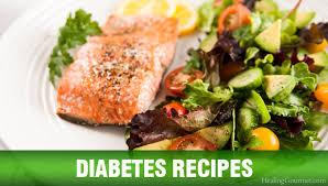 menu ideas for diabetics diabetes recipes healing gourmet