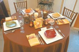 Casual Table Setting Giving Thanks Create A Beautiful Casual Thanksgiving Table