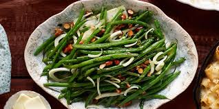 green beans and fennel with tarragon