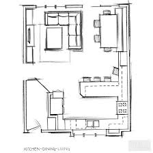 Kitchen Blueprints Best 25 Kitchen Living Rooms Ideas On Pinterest Kitchen Living