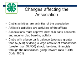 4 h clubs affiliates banking and taxes new york state 4 h march