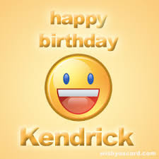 happy birthday kendrick free e cards