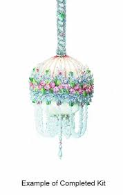 beaded ornament kit cake by glimmertree