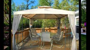 Gazebo Fire Pit Ideas by Small Patio Gazebo Ideas Youtube
