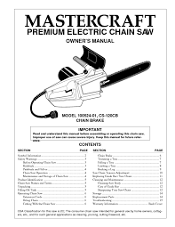 chainsaw users guides