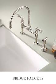 kitchen bridge faucet rohl shop rohl sinks and rohl faucets from home