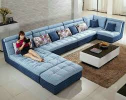 sofa u fabric sofa u shape on sales quality fabric sofa u shape supplier